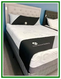 Mattress Queen Set & Box Spring Foundation - Brand New - In Plastic Manassas