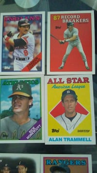 four assorted baseball trading cards Mansfield, 44905
