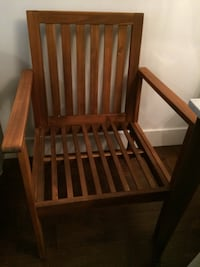 2 chairs without cushions $25 each Vancouver, V6G
