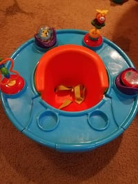baby's blue and red exersaucer District Heights, 20747