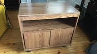 Wood TV Stand