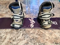 105cm Lamar bender board, binding and size 1 boots  London, N6G 2W6