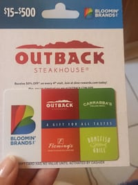 Gift card North Port, 34288