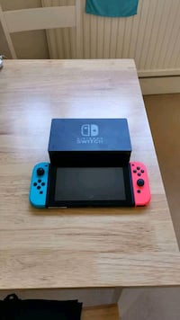 blue and red Nintendo Switch Greater London, N10 3UN