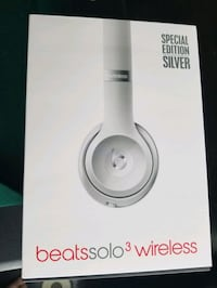 Beats Solo 3 Wireless *Brand New* #Limited Silver Mississauga, L5N 6Y9