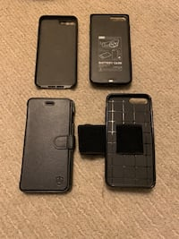 iPhone 7+ cases $140 value! (Qty 5) Phone NOT included  Washington, 20001