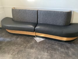 4 piece bench set.  Perfect for a lobby or waiting room.