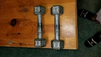 Two 5 lb weights for $5 Toronto, M9V 1B4