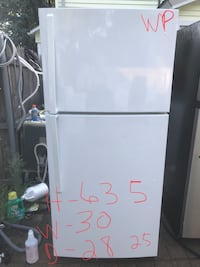 white top-mount refrigerator Cranston, 02910