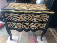 black and white wooden table Maryville