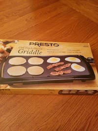 Presto cool touch electric griddle  Clarksburg, 20871