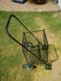 black metal folding shopping cart Phoenix, 85018