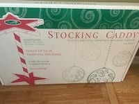white and green stocking caddy box Lawrence, 46226