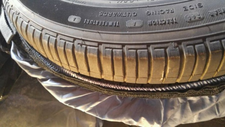 Original Honda civic rims with brand new Goodyear Eagle tires  1