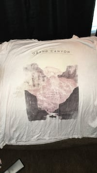 white and black Grand Canyon printed shirt Salina, 67401