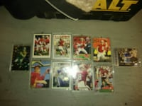 Lot of steve young football cards