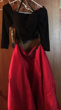 women's red and black dress North Myrtle Beach, 29582