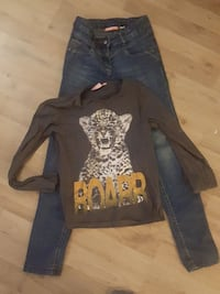 Ensemble jean+t-shirt