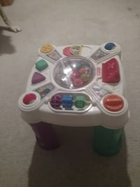 white learning table