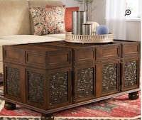 Brown wooden cabinet with mirror Ontario, 91762