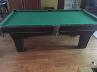 green and brown pool table Weston, 33326