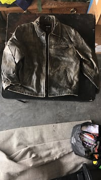 BKE67 XL Real Leather Jacket