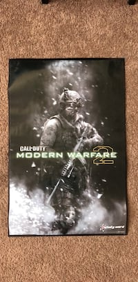 COD Modern Warfare 2 poster Woodbridge, 22191