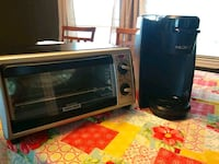 Mr Coffee Keurig and B&D Toaster oven Spartanburg