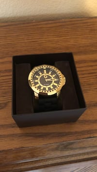 G by guess gold watch
