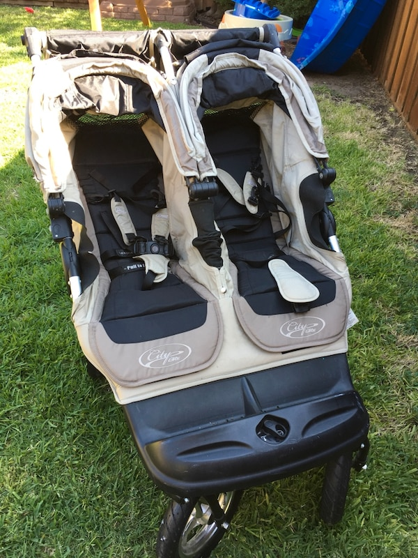 Baby Jogger City Elite Double Stroller In Stone