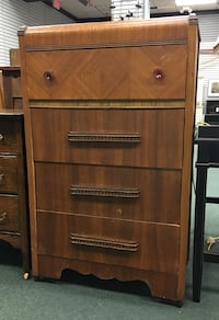 "Circa 1920 Four Drawer Chest of Drawers. 30.5""W x 16.75""D x 50""H Heath, 43056"