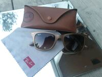 black framed Ray-Ban wayfarer sunglasses with box Westbank, V4T 2H2