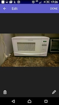 Frigidaire microwave old 4 month