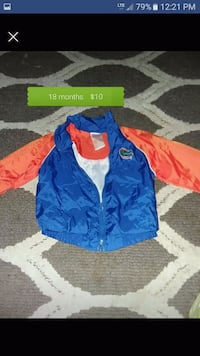 blue and red zip-up jacket Avon Park, 33825