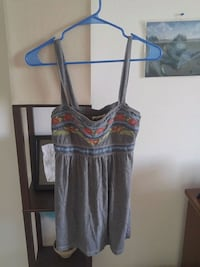 women's gray and pink spaghetti strap dress Silver Spring, 20910