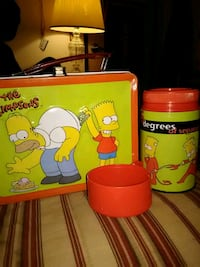 The Simpsons collectable lunch box  Fargo, 58103
