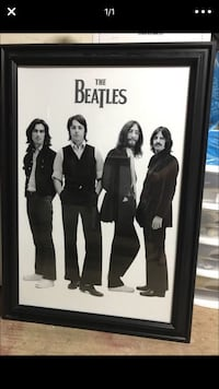 The Beatles poster with black frame Marysville, 95901