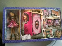 Ever After High Doll with book house