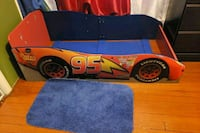 red Lightning McQueen bed frame Perth Amboy, 08861