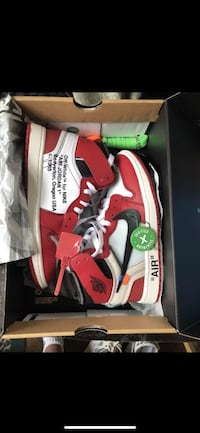 Nike Air Jordan Off White Chicago sz 7 Rockville, 20852