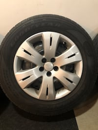 Goodyear Assurance 215/65r16 All Season Tires and Steel Rims Edmonton, T5Y 0C3