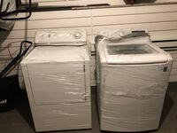 Washer\dryer set *washer is brand new* Laval, H7K 2J8