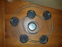 round black metal 6-light candle holder Belleville, K8P 3Z5
