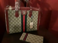 Red trimmed Gucci purse and wallet Augusta, 30906