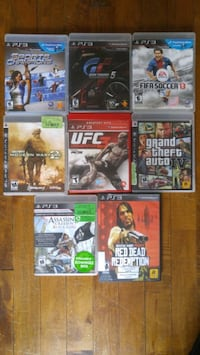 Sony PS3 Move and games  Montréal, H4V 2J6