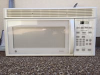 white General Electric microwave oven Irvington, 10533