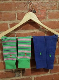 blue, green, Polo socks St. Catharines, L2R 3M2