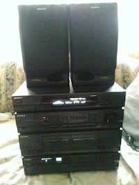 Sony Compact Stereo Unit / Speakers