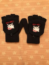 Guantes hello kitty