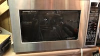 black and gray microwave oven Huntsville, 35801